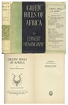 Ernest Hemingway First Edition, First Printing of Green Hills of Africa -- With Unclipped Dust Jacket