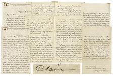 Clara Barton Autograph Letter Signed to Dr. Harriet N. Austin, a Pioneer in Womens Health -- ...he is...declared to be, incurable, all of which I do not take at its full value...