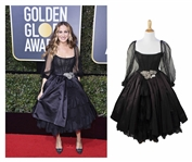 Sarah Jessica Parkers Dolce & Gabbana Gown Worn at the 75th Golden Globe Awards in 2018 -- Black Gown Sold to Benefit TIMES UP