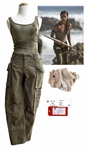 Alicia Vikander Screen-Worn Costume as Lara Croft in Tomb Raider -- With COA From MGM