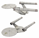 Screen-Used Ralph McQuarrie Original Model of Star Treks USS Enterprise From 1976