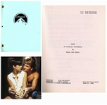 Patrick Swayzes Personal Copy of the Script for Ghost -- With COA From Lisa Niemi Swayze