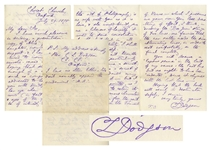 Charles Dodgson Autograph Letter Twice-Signed -- ...I have much pleasure sending a presentation copy of Alice for your daughter...