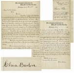 Clara Barton Autograph Letter Signed Regarding Missing Black Soldiers -- ...in relation to the Colored Troops...this search can be made nearly as successful as that for the white soldiers...