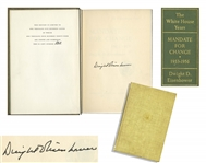 Dwight D. Eisenhower Signed Limited Edition of His Memoir, The White House Years -- Uninscribed, #823 of the Limited Edition