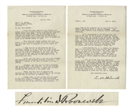 Franklin D. Roosevelt Letter Signed From 1926 -- With Exceptional Content to Helena Mahoney Upon the Opening of the Warm Springs Institute