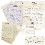 Fred Rogers of Mister Rogers Neighborhood Lot of 17 Autograph Letters Signed -- With Many on Stationery From the Show
