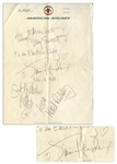Jimi Hendrix Experience Signatures -- Perhaps the Best Signatures of the Group Ever Available, With Jimi Writing, to an Electric lady / Jimi Hendrix -- With Roger Epperson COA