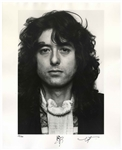 Jimmy Page Signed 16 x 20 Photo -- One of Only 50 Signed by Page in a Limited Edition