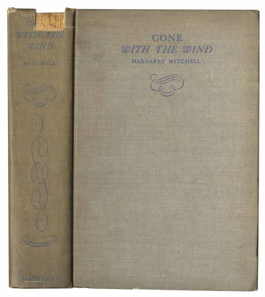 Margaret Mitchell Signed First Edition, First Printing of ''Gone With The Wind'' -- In Rare First Printing Dust Jacket