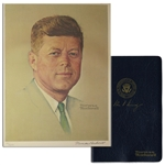 Norman Rockwell Signed Lithograph of JFK -- Appeared as the Cover of The Saturday Evening Post in 1960