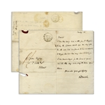 Robert Darwin Autograph Letter Signed From 1841