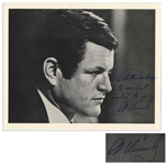 Ted Kennedy Signed 10 x 8 Photo