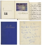 Walt Disney Signed Copy of Ave Maria From Fantasia