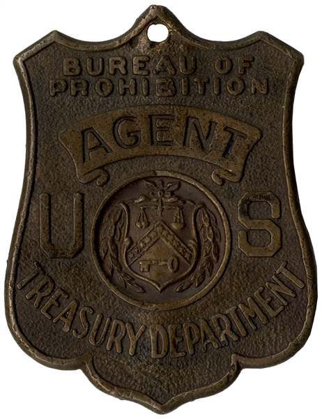 Rare Prohibition Law Enforcement Badge