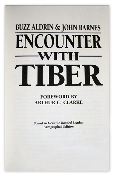 Limited Edition ''Encounter With Tiber'' Signed By Astronaut Buzz Aldrin