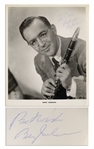 King of Swing Benny Goodman 8 x 10 Glossy Signed Photo