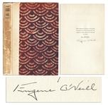 Eugene ONeill Signed Limited Edition of Lazarus Laughed