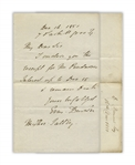 Emma Darwin, Wife of Charles Darwin, Autograph Letter Signed