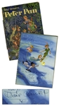 "Walt Disney Signed ""Walt Disneys Peter Pan"" -- With Phil Sears COA"