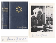David Ben-Gurion Signed Limited Edition of Israel: A Personal History