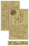 Albert Einstein Autograph Letter Signed From 1923, During Germanys Economic Crisis -- ...it is necessary now for the intellectual workers in Germany to look for a subsistence...
