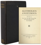 Alcoholics Anonymous Big Book First Edition, Fourth Printing