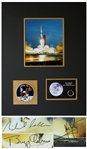 Apollo 11 Crew-Signed 8 x 10 Photo -- Signed by Neil Armstrong, Michael Collins & Buzz Aldrin -- With Steve Zarelli COA