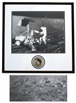 Apollo 12 Astronaut Charles Conrad Signed 20 x 16 Photo