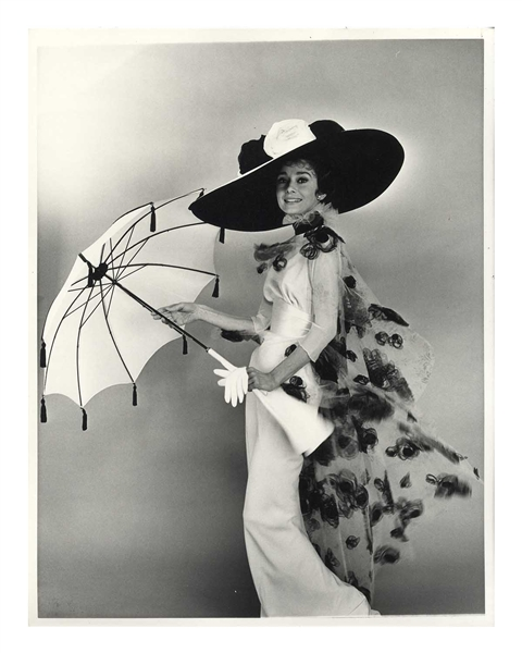 Audrey Hepburn 11'' x 14'' Photo From ''My Fair Lady'' -- Taken by Cecil Beaton & From Audrey's Personal Collection