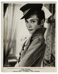 Audrey Hepburn Personally Owned 8 x 10 Photo From War and Peace