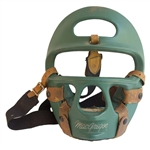 Bruce Lee Owned & Used Sparring Mask -- From the Estate of Lees Protege Herb Jackson