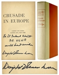 Dwight D. Eisenhower Signed Copy of Crusade in Europe