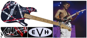Eddie Van Halen Personally Designed, Stage Played & Signed Guitar