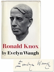 Evelyn Waugh Signed First Edition of His Heralded Biography The Life of Ronald Knox