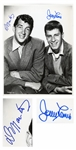 Dean Martin & Jerry Lewis 11 x 14 Signed Photo