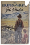 John Steinbecks The Grapes of Wrath First Printing -- In First Printing Dust Jacket