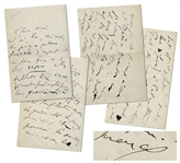 Marcel Proust Autograph Letter Signed From 1910 While Writing In Search of Lost Time -- ...their coarseness giving a pretext for a refusal, always the formalists preference...