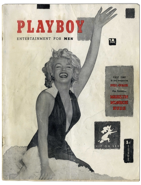 First Issue ''Playboy'' Featuring Marilyn Monroe From December 1953
