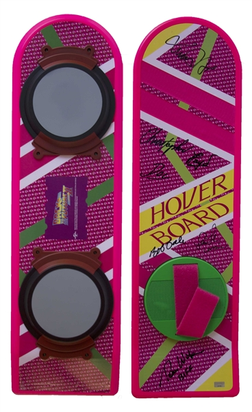 ''Back to the Future II'' Cast Signed Hoverboard