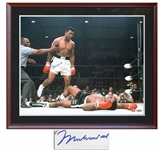 Muhammad Ali Signed 24 x 30 Photo -- With Steiner COA