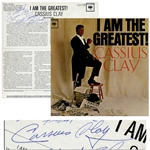 Cassius Clay Signed Album I Am the Greatest! -- With JSA COA