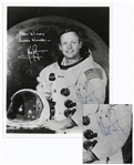 Neil Armstrong Signed 8 x 10 Photo -- Uninscribed -- With Steve Zarelli COA