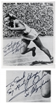 Olympic Track & Field Hero Jesse Owens 8 x 10 Signed Photo