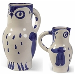 Pablo Picasso Hibou, Number 253 -- Ceramic Owl Pitcher Created at the Madoura Pottery Studios