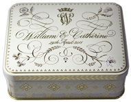 Prince William and Princess Kate Wedding Cake Slice -- In Original Presentation Tin