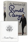 Ronald Reagan Signed Copy of His Autobiography An American Life -- From the Ronald Reagan Presidential Library