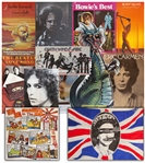 Collection of 60+ Rock Posters From the Late 1970s, Including the Sex Pistols God Save the Queen and Holidays in the Sun