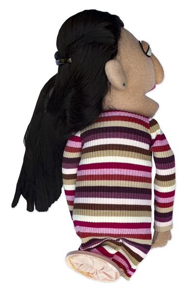 Sarah Silverman Personally Owned ''Crank Yankers'' Puppet -- Used by Silverman on ''Crank Yankers'' as Hadassah Guberman
