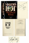 Stephen King Signed Copy of Salems Lot -- remember: they only come out at night!